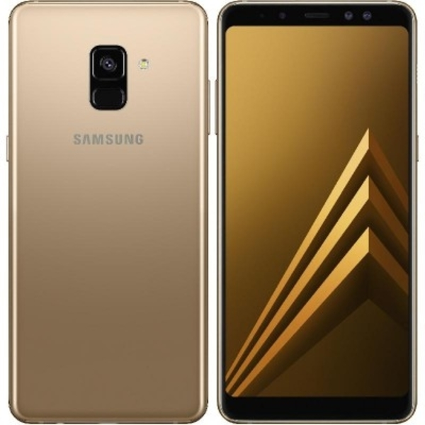 Samsung A6 Plus (2018) 64GB Smartphone, Gold (SMA605FW-64GBGD)