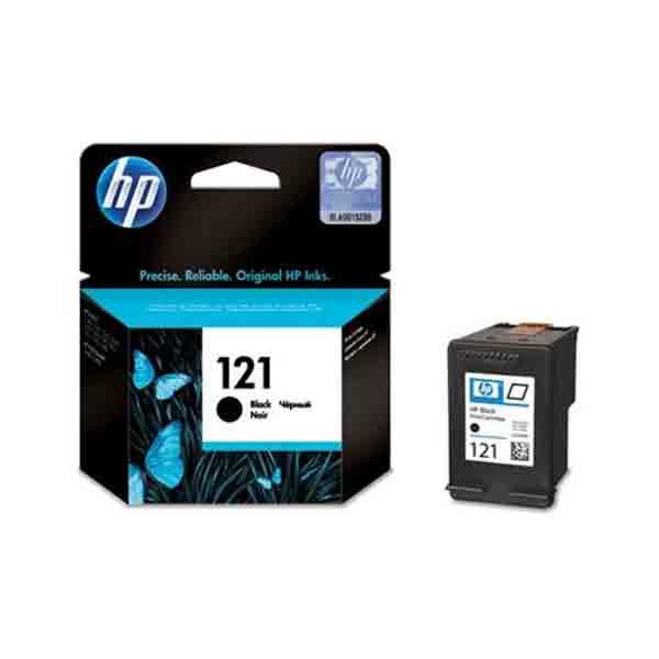 Hp 121 Ink Cartridge, Black [cc640he]