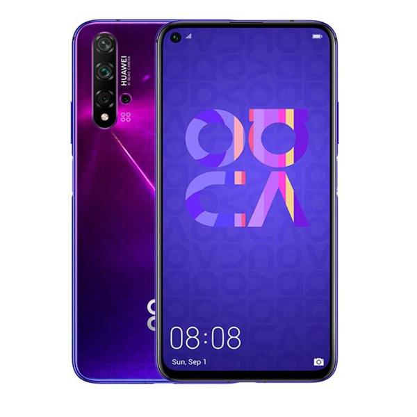 HUAWEI MOBILE PHONE NOVA 5T ,6.26'', 128GB,4G,ANDROID 9.0,PURPLE (NOVA5T-PR)
