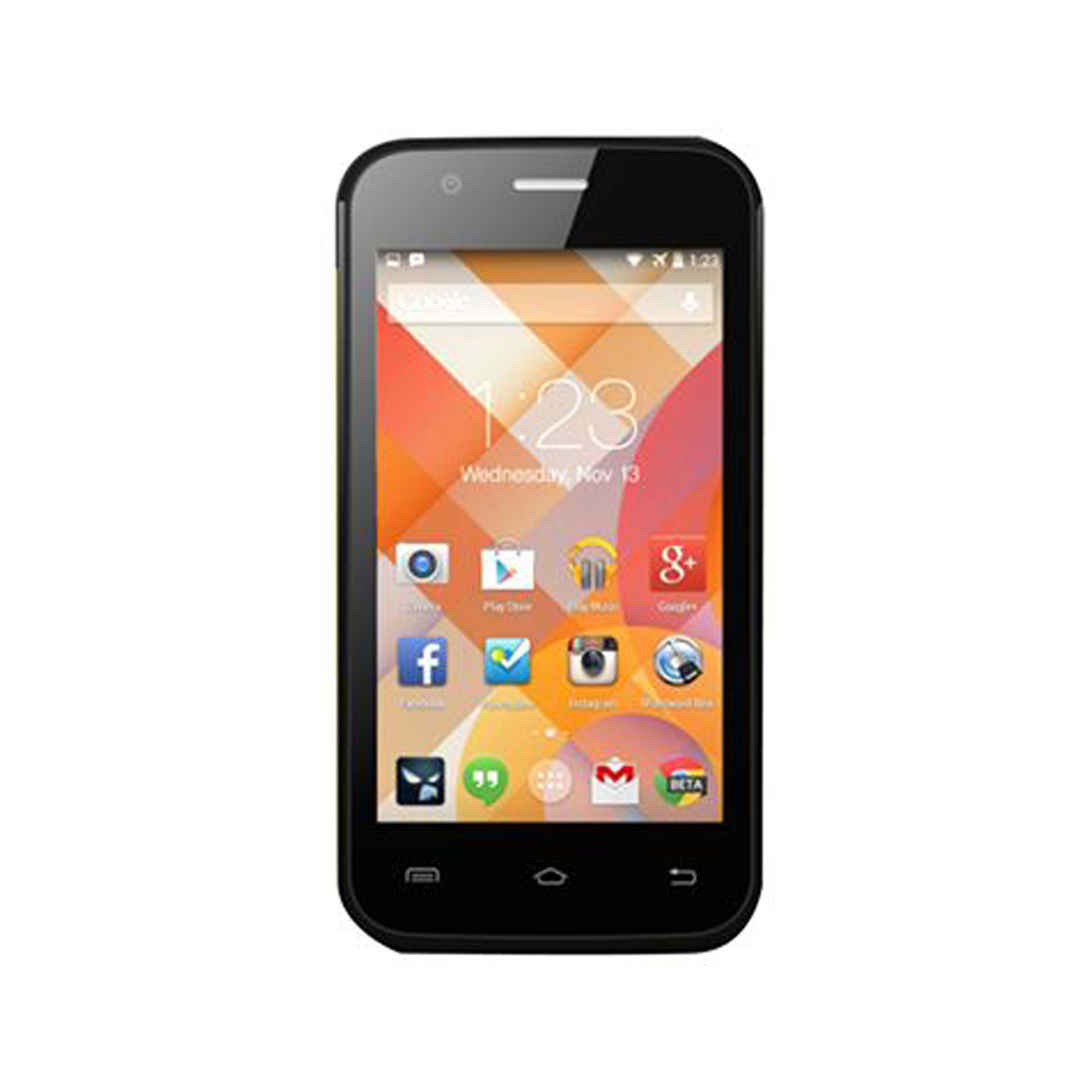 KZEN  Dual Sim - 8 GB, 3G, Black AxisA1
