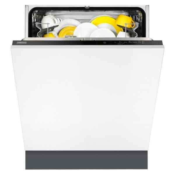Zanussi 12 Place Setting , 5 Programs, Built In Dishwasher (ZDT21001FA)