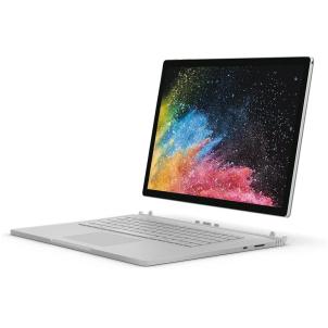 Microsoft Surface Book 2 2-in-1 Laptop - Intel Core i7-8650U, 15-Inch PixelSense Touch, 256GB SSD, 16GB, 6GB VGA-GTX1060, Eng-Arb-KB, Windows 10 Pro, Platinum HNR-00022