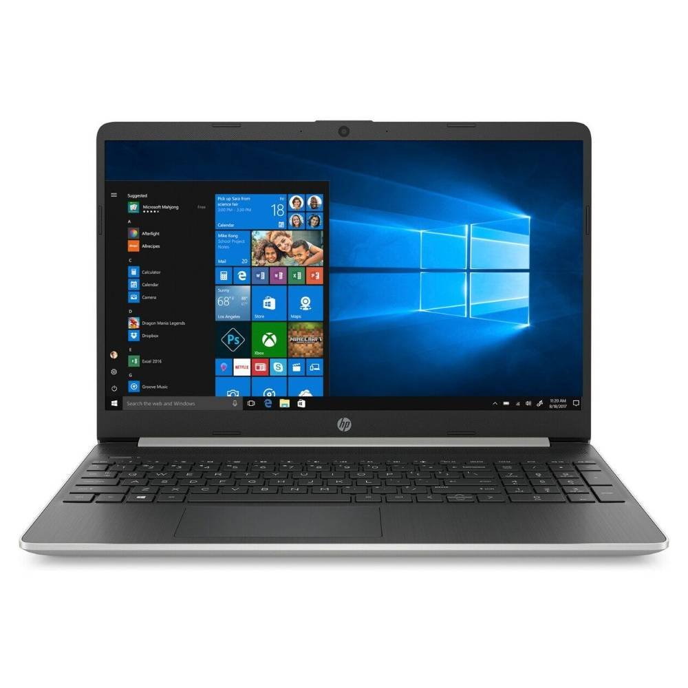 HP NOTEBOOK Core I7 10th Gen RAM 8GB SSD 256GB GRAPHICS SHARED 15.6 Windows10 Silver 15-DY1078