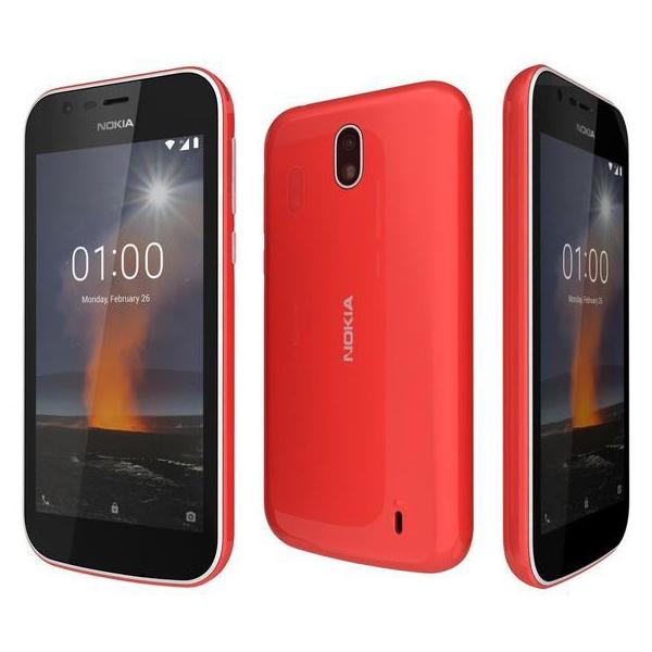 NOKIA MOBILE PHONE / NOKIA 1 TA-1056 WARM RED-11FRTRW1A15 (NOKIA1W-RD)