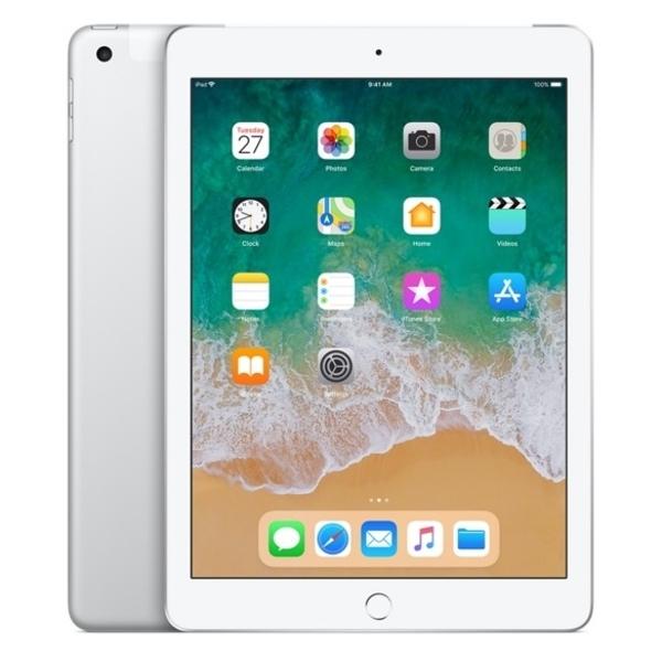 Apple iPad 6th Gen (2018) WiFi + Cellular 128GB - SIlver (MR732AE/A)
