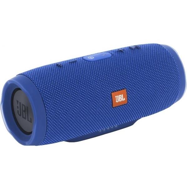 JBL Charge 3 Waterproof Bluetooth Speaker,  Blue (JBLCHARGE3BLUEEU)
