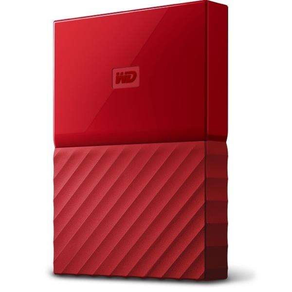 WESTERN DIGITAL MY PASSPORT 1TB-RED (WDBYNN0010BRD-WESN)