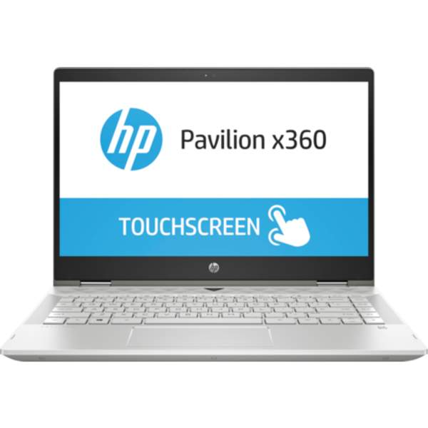 HP Pavilion x360 Convertible Touch Laptop 8th Gen, 14 Inch FHD, Intel Core i5-8250U, 3.4GHz, 8GB RAM, 1TB+128GB, Win 10, Silver (14-CD0002)