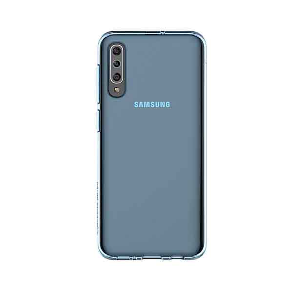 SAMSUNG A50-SMAPP BACK COVER-BLUE (GP-FPA505KDALW)