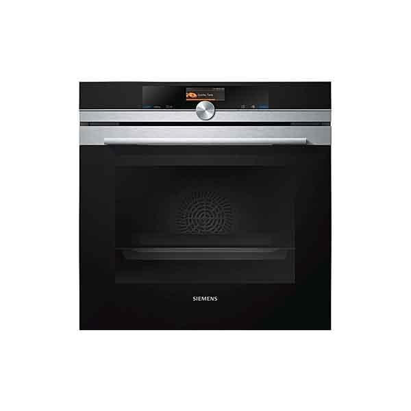 Siemens iQ700 Single Oven Black, Stainless Steel (HB676GBS1B)