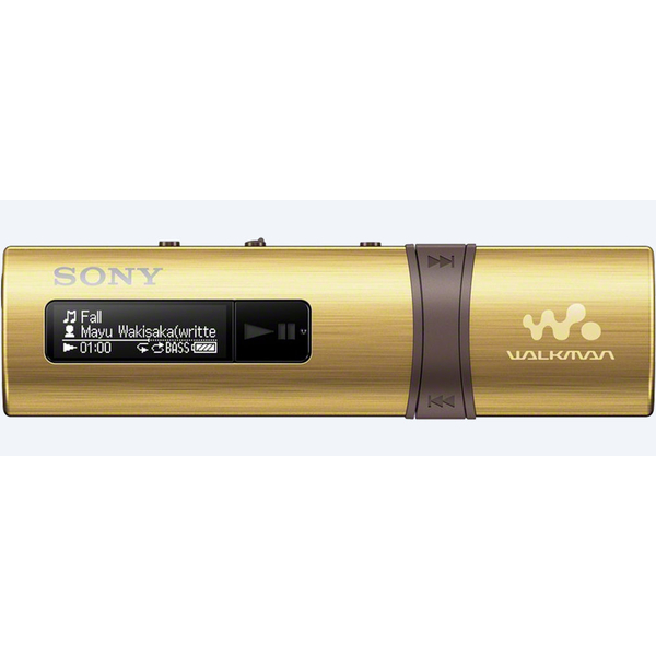 Sony MP3 Player with FM - 4GB Gold (NWZB183GD)
