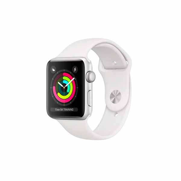 APPLE WATCH SERIES 3 38 SL AL WHT SP GPS (MTEY2AE/A)