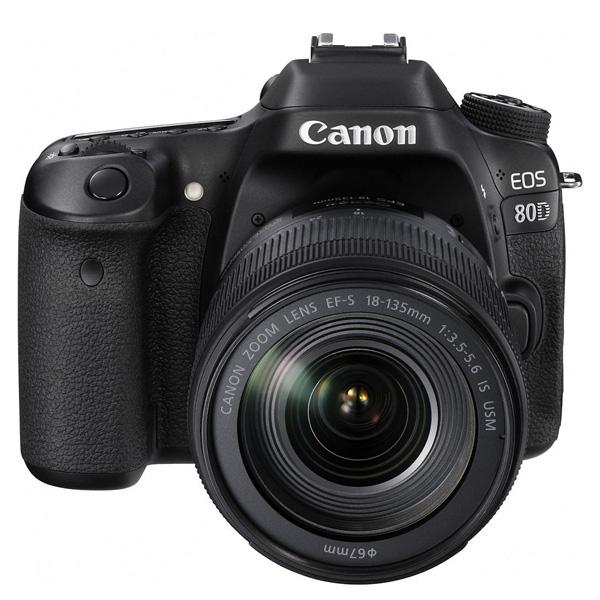 CANON EOS80DKIT CAMERA 18-135IS USM (EOS80DKIT1)