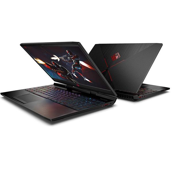 "HP Omen 15-dc1006 15.6-inch FHD Laptop Core i7-9750, 32GB, 512GB SSD + 1TB HDD, NVIDIA GeForce RTX 2070 8GB Graphics 15"" Win10 Black (15-DC1006)"