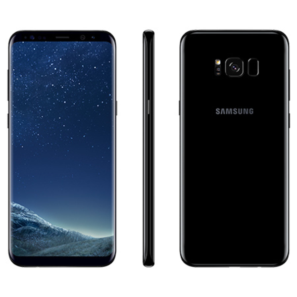 Samsung Galaxy S8 Plus, Black  (SMG955FW-64GBB)