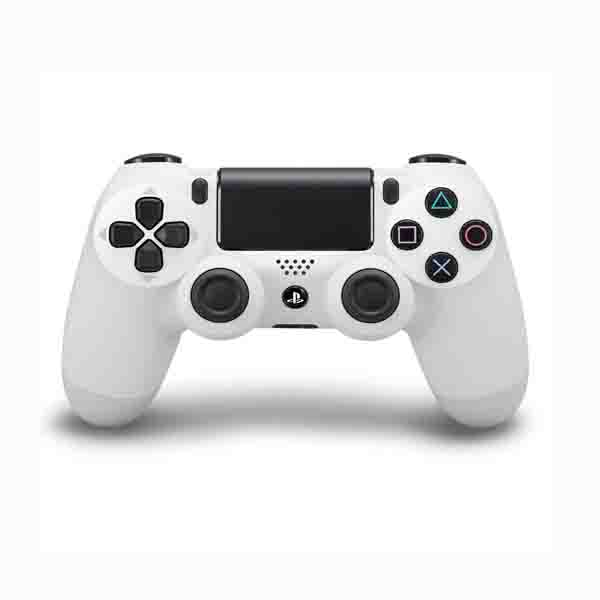 SONY PS4 DUAL SHOCK CONTROLLER, V2, WHITE (CUHZCT2EWHITE)