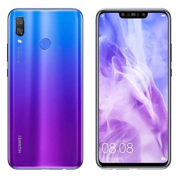 Huawei Y9  2019 Smartphone, Blue (Y9W-64GBBL-MC128)
