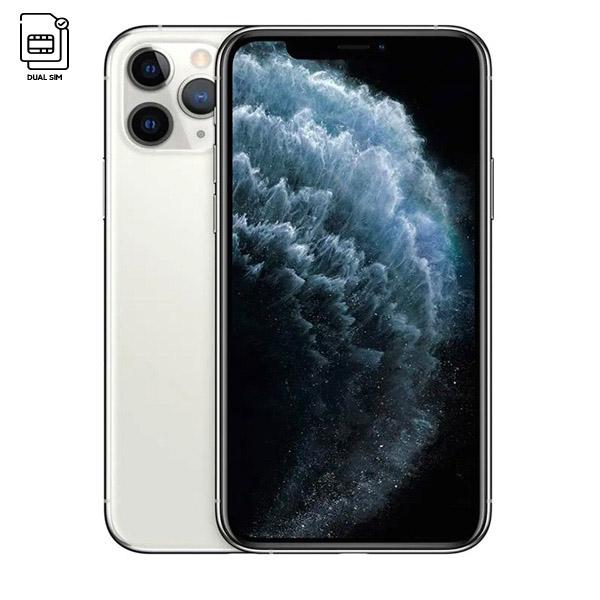 Apple iPhone 11 Pro Max Dual SIM With FaceTime Silver 256GB 4G LTE - HK Specs (MWF22/HK-EC)