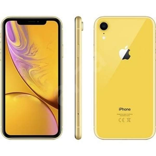 Apple iPhone XR 128GB Smartphone, Yellow (IPXR128GB-YL)