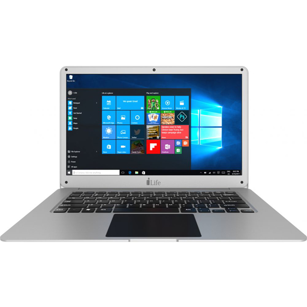 ILIFE NB (SILVER) PROC INTEL CELERON , RAM 6GB, HDD 500GB ,14'' FHD SCREEN, WIN10 (ZEDAIRH6-SL)