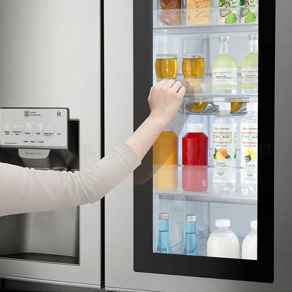 LG InstaView Door-in-Door Refrigerator 668 Litres (GRX257CSAV)