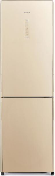 Hitachi 410 Litre Double Door Bottom Freezer Refrigerator - RBG410PUK6XGBE