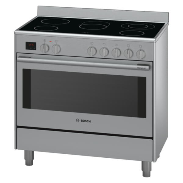 bosch serie 8 range cooker 90 cm hcb738357m. Black Bedroom Furniture Sets. Home Design Ideas