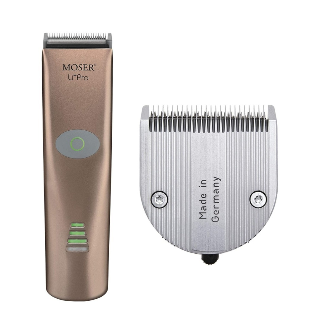 Moser 1884-0155, Li+Pro Professional Cord/Cordless Hair Clipper, Rose Gold