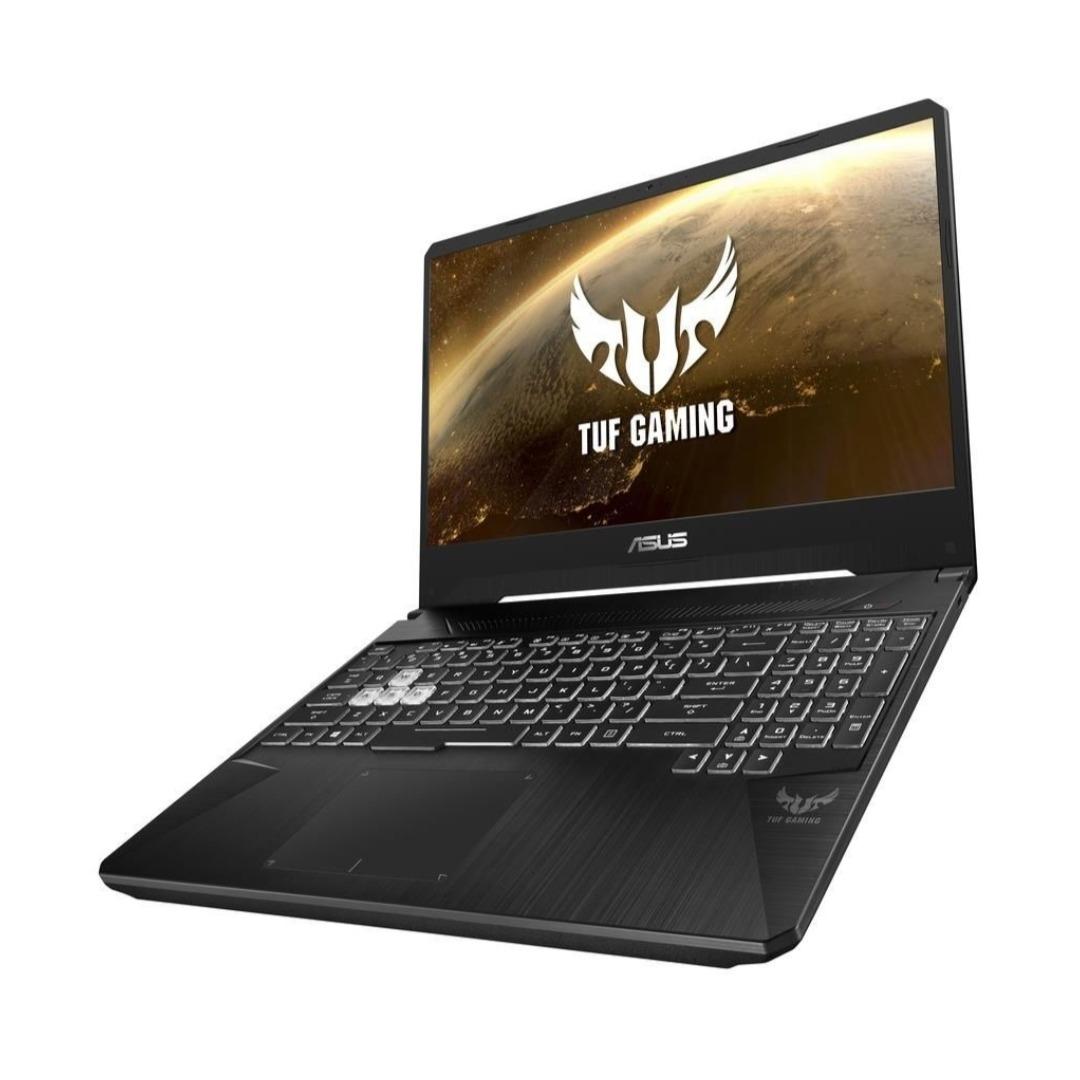 "ASUS TUF Gaming FX505DT-BQ051T Black (AMD R5, RAM 8GB, Memory 512GB SSD, 15.6"" FHD, 4GB GTX, Win10) Engl/Arab"