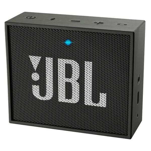 JBL GO Portable Bluetooth Speaker - Black (JBLGOBLK)