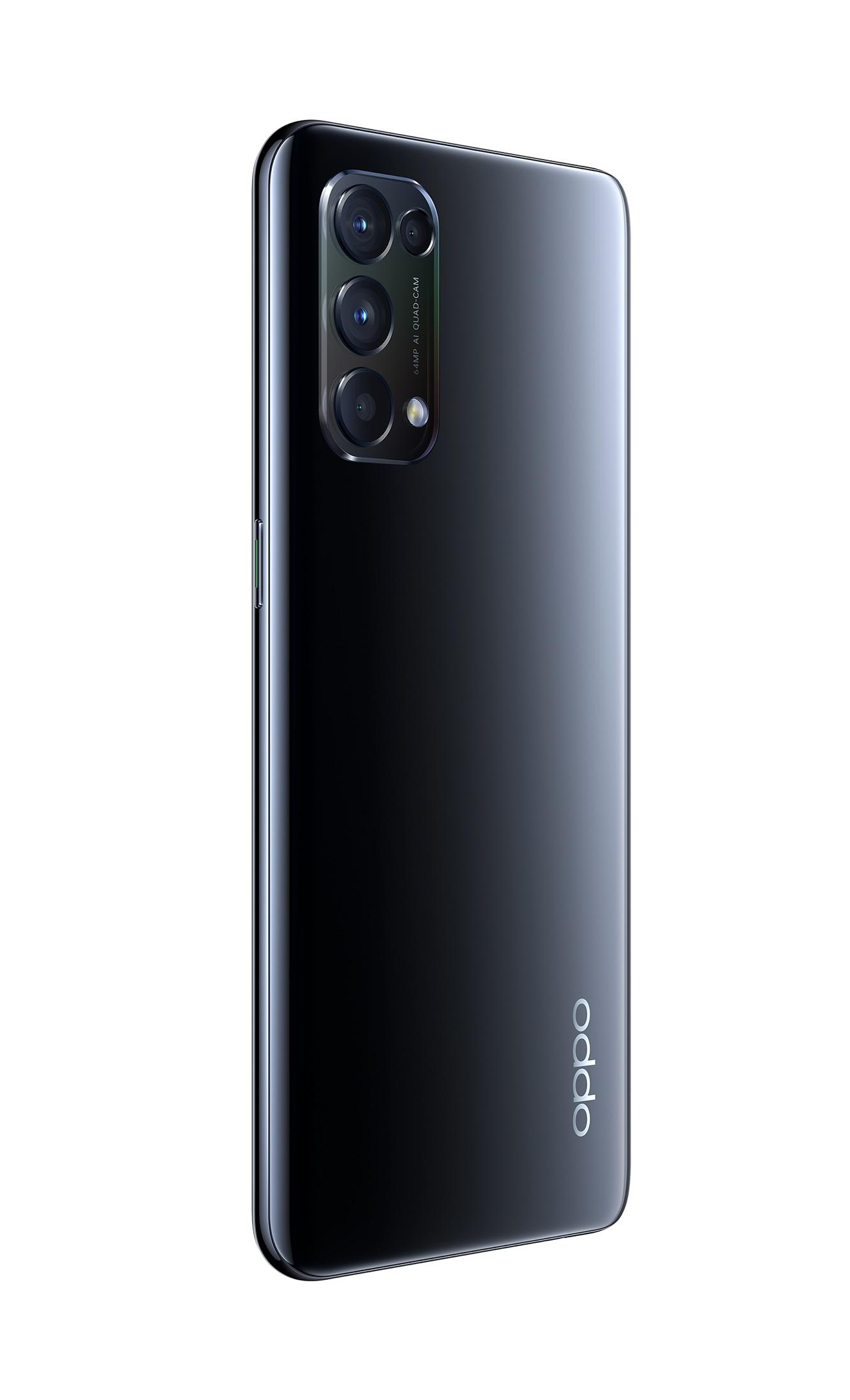 OPPO Reno5 RAM 8GB+128GB Starry Black, RENO5-128GBBK, CPH2211