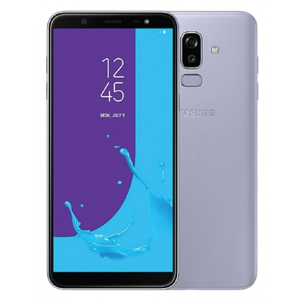 Samsung Galaxy J8 Smartphone, Lavender (SMJ810FW-64GBGY)