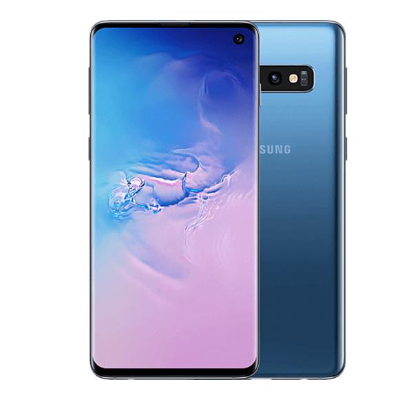 Samsung Galaxy S10 Dual SIM Prism Blue 128GB 8GB RAM 4G LTE (SMG973FW-128GBBL)