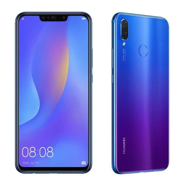 Huawei Nova 3i Smartphone, Iris Purple (NOVA3IPR)