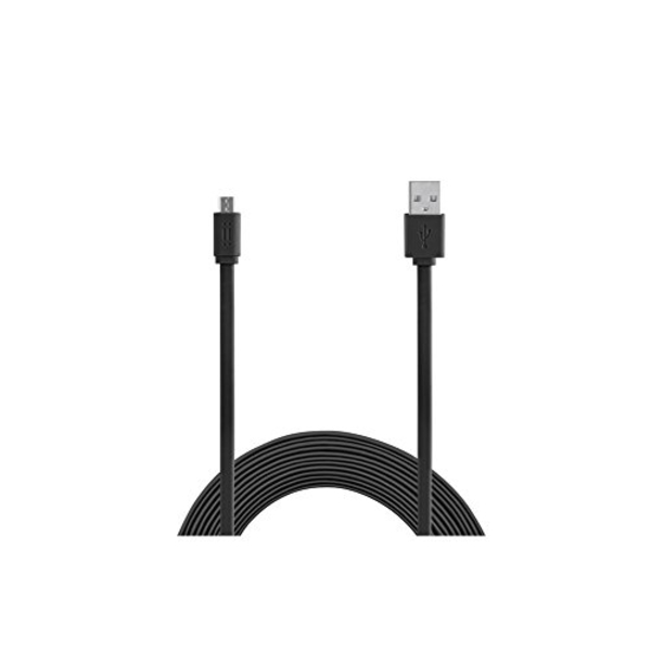AIINO MICRO USB TO USB 3.0 FLAT CABLE 1.5M-BLACK (AICMCRUSBF-BK)