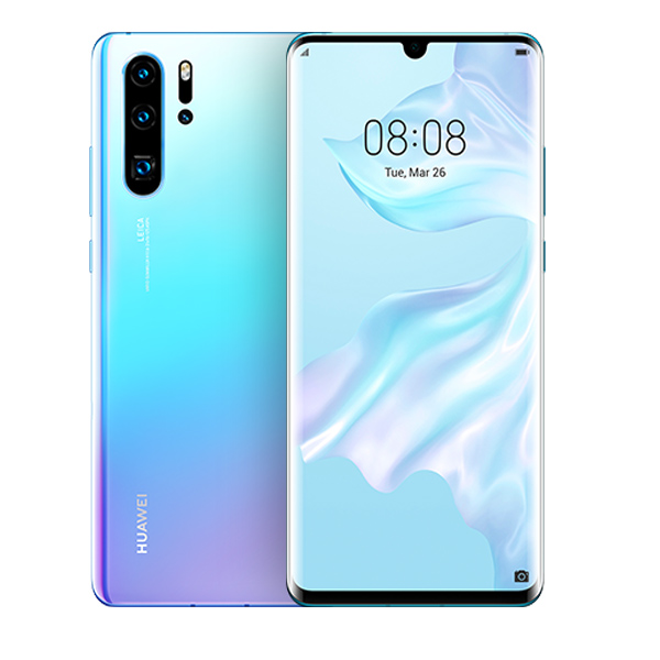 HUAWEI P30 PRO 256GB 4G DS ARABIC BREATHING CRYSTAL LIGHT BLUE