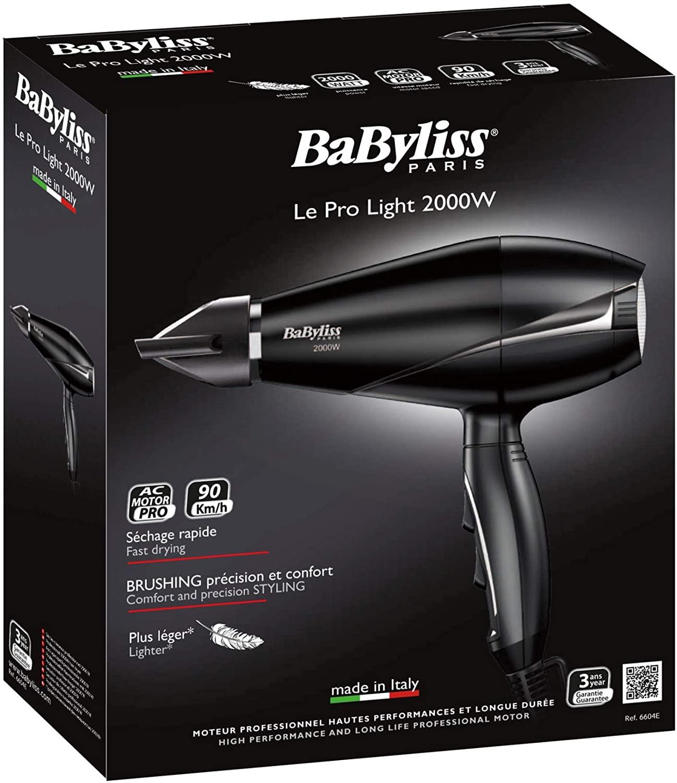Babyliss BAB6604SDE,AC Dryer 2000W