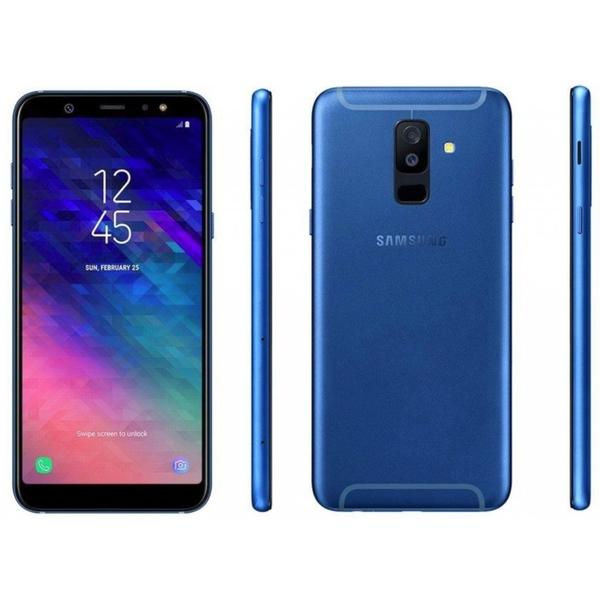 Samsung A6 (2018) 64GB Smartphone, Blue (SMA600FW-64GBBL)