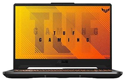 Asus TUF A15 FA506II-AL038T Gaming Laptop - AMD R7-4800H 2.9 GHz, 16GB RAM, 512GB SSD, Nvidia GeForce GTX1650Ti, 15.6 inches, 144Hz Refresh Rate, Windows 10, Eng-Arb-KB - Black
