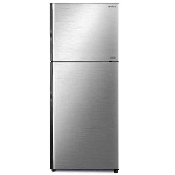 Hitachi 500Ltr Top Mount Inverter Refrigerator Brilliant Silver Color (RV500PUK8)