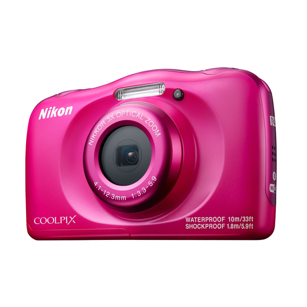 Nikon Coolpix W100 - Pink (COOLPIXW100PK)