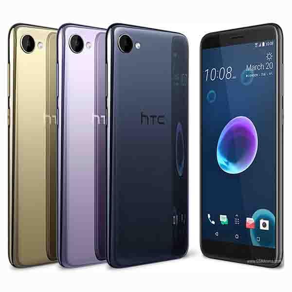 HTC Desire 12 Smartphone - Black (99HAPD018-EC)