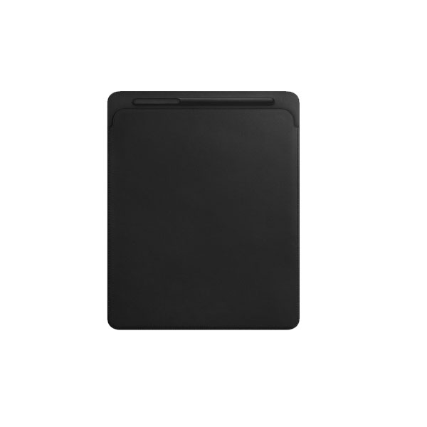 Apple Leather Sleeve for 12.9-inch iPad Pro - Black (MQ0U2ZM/A)