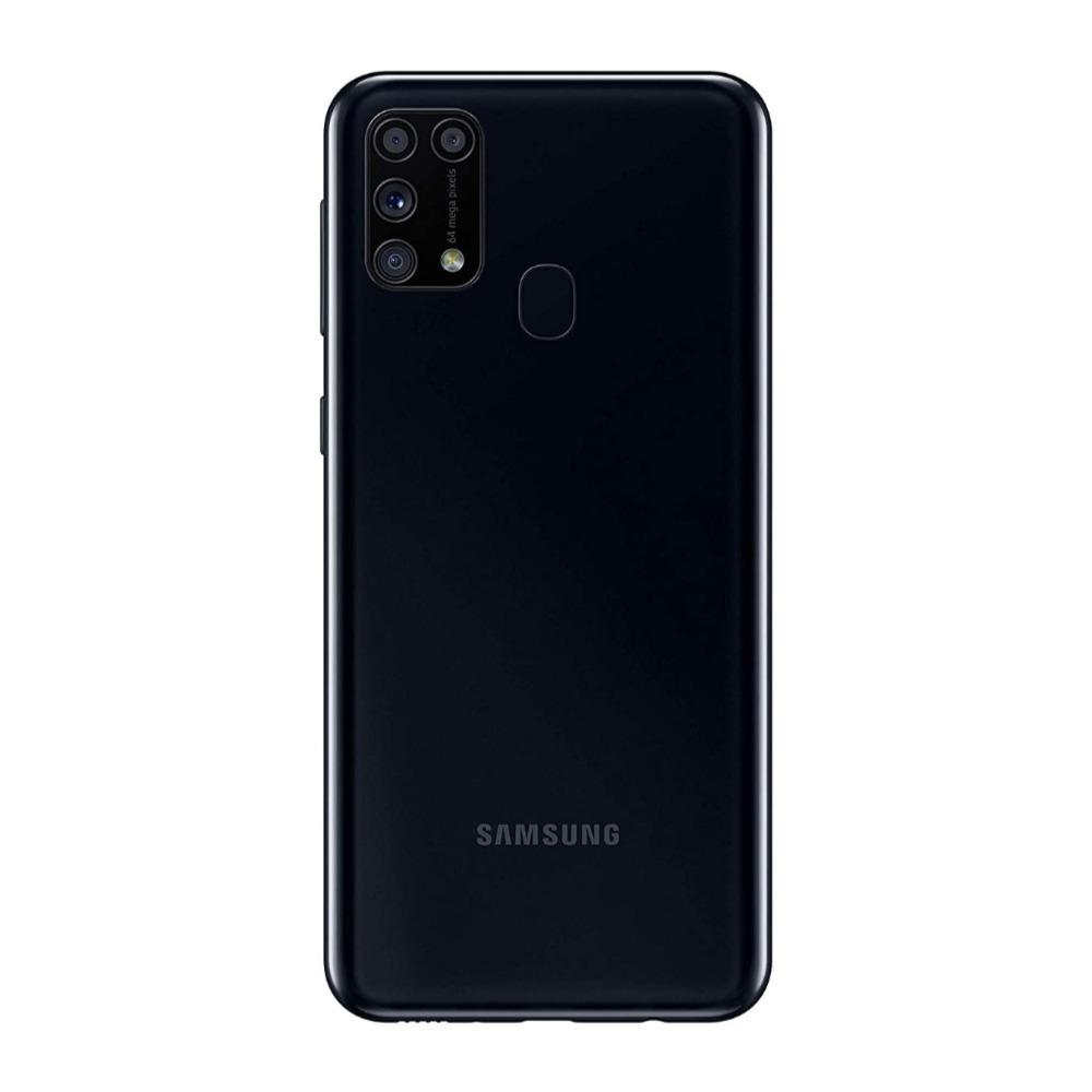 Samsung Galaxy M31 Dual SIM, 128GB, 6GB RAM, 4G LTE, Black