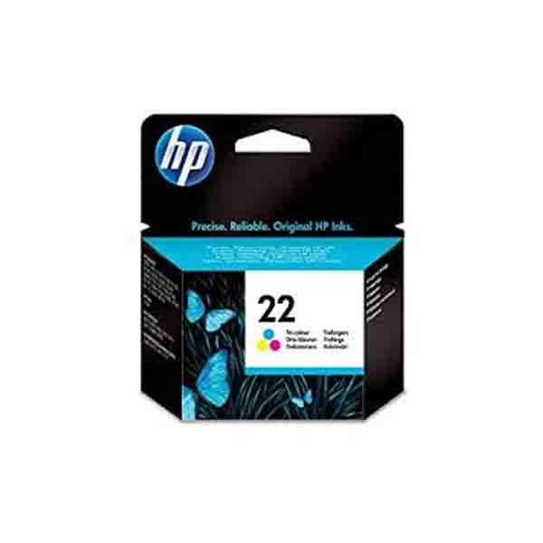 HP 22 Tri-color Original Ink Cartridge C9352AE