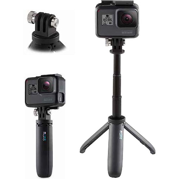 GoPro Shorty Mini Extension Pole Plus Tripod (AFTTM001-EC)
