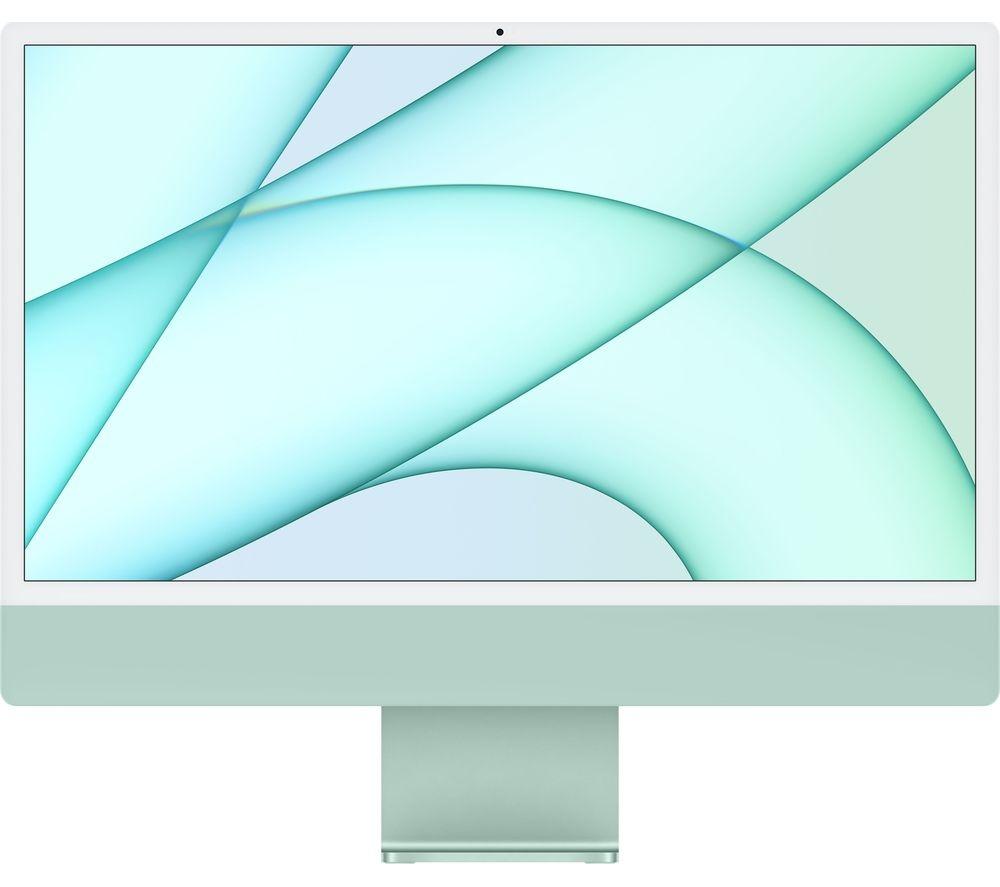 Apple IMAC M1 chip with 8‑core CPU and 8‑core GPU, 512GB 24-inch with Retina 4.5K display MGPJ3AB/A Green