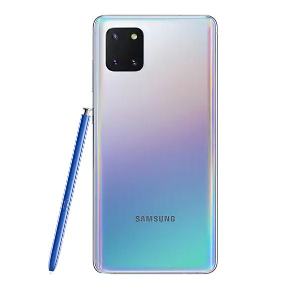 """Samsung Galaxy Note10 Lite 6.7"""" FHD, Dual Sim, 4G LTE, 8GB, 128GB Smartphone Silver (SM-N770FZSGXSG)"""