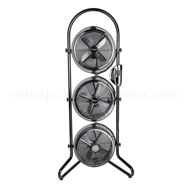 Crownline 9″ Triple Fan with remote (TF-218)