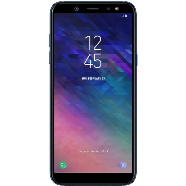Samsung A6 (2018) 64GB Smartphone, Black (SMA600FW-64GBB)